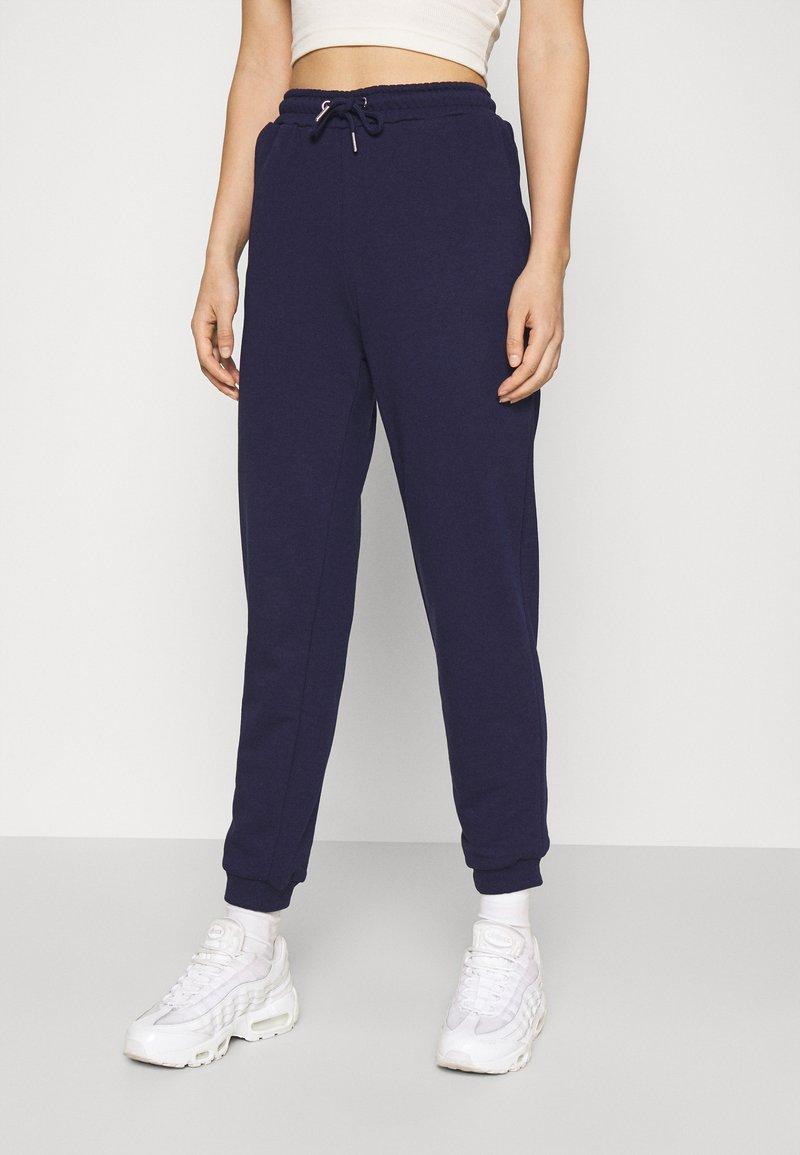 Even&Odd - Regular Fit Jogger - Trainingsbroek - dark blue