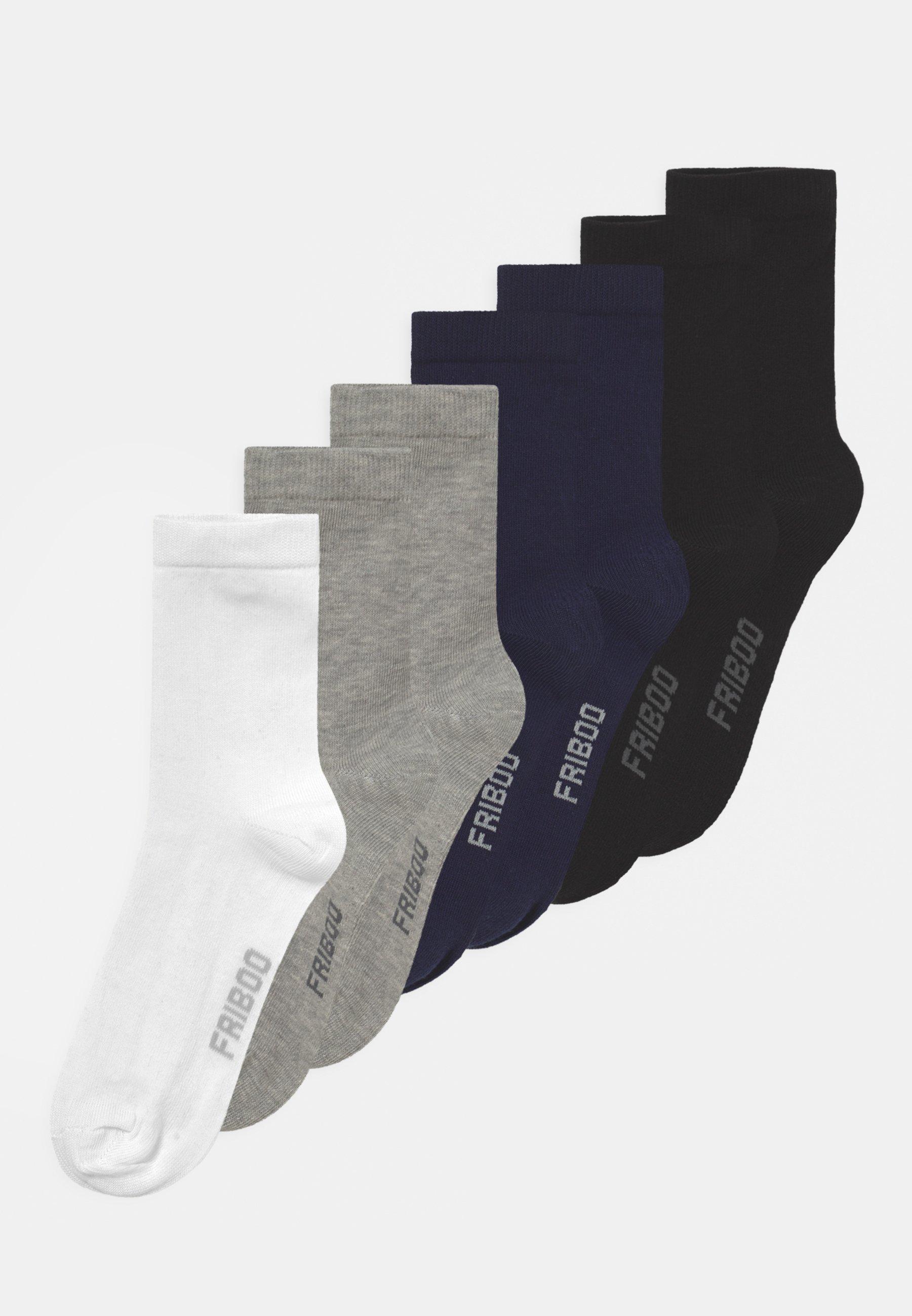Kinder 7 PACK UNISEX  - Socken - black/dark blue/grey