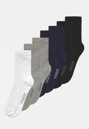 7 PACK UNISEX  - Socks - black/dark blue/grey