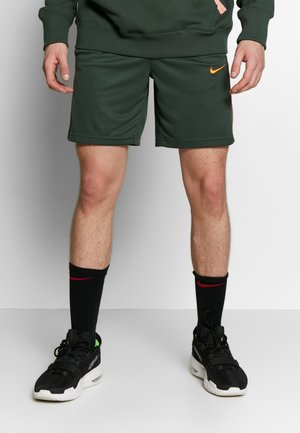 NIKE DRI-FIT DAMEN-BASKETBALLSHORTS - Sports shorts - evergreen aura/galactic jade