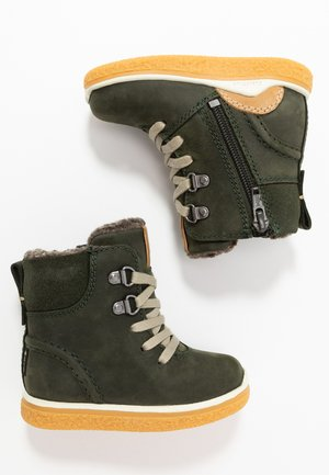 CREPETRAY MINI - Lace-up ankle boots - deep forest