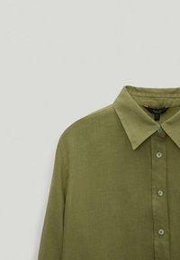Massimo Dutti - Skjortebluser - green - 3