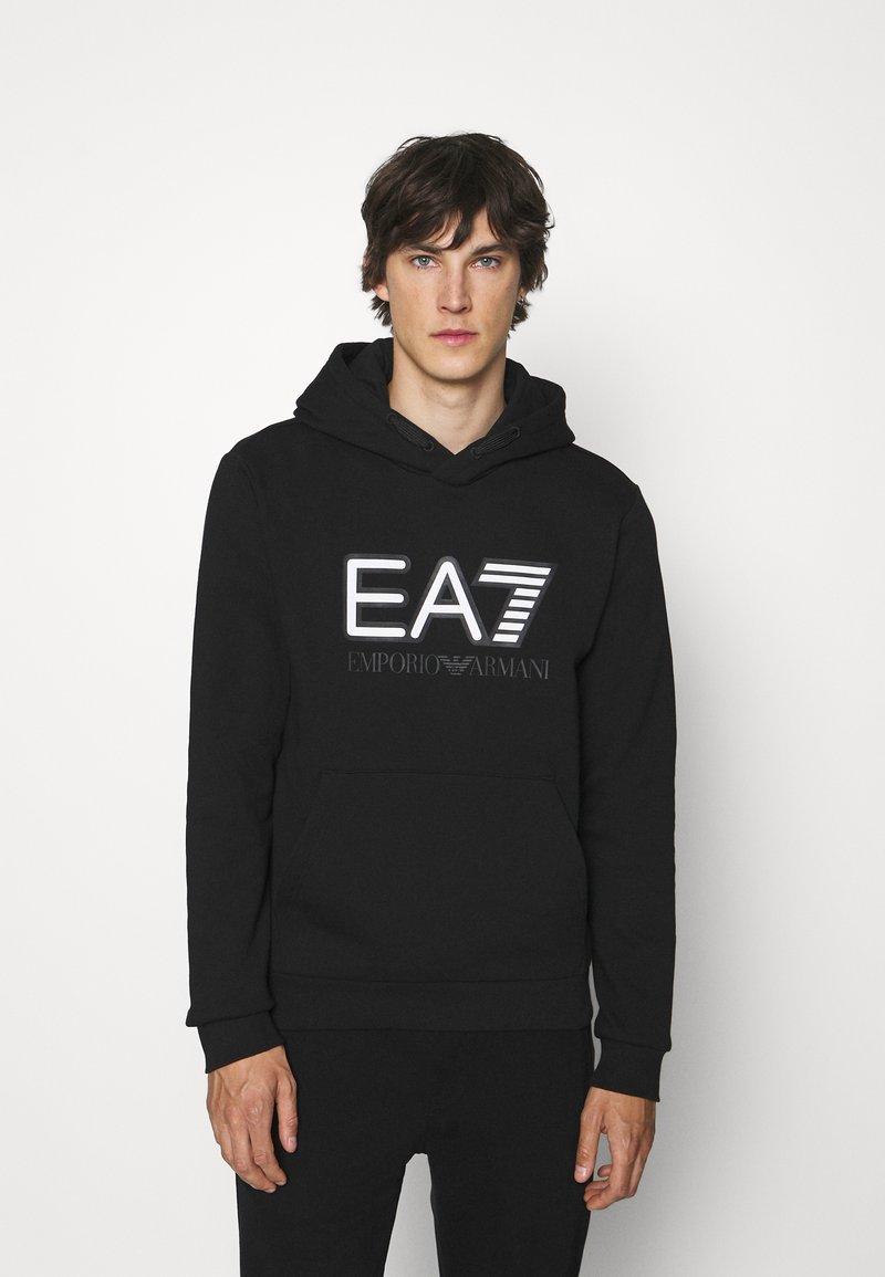 EA7 Emporio Armani - Mikina - black/white