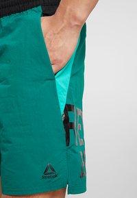 Reebok - ONE SERIES TRAINING SHORTS - Sports shorts - green - 3