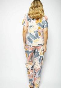 Cyberjammies - Pyjama bottoms - grey peach - 3