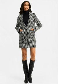 WE Fashion - JACQUARD PIED DE POULE  - Blazer - black - 1