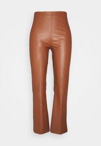 Soaked in Luxury - KAYLEE KICKFLARE PANTS - Pantalon classique - rubber - 4
