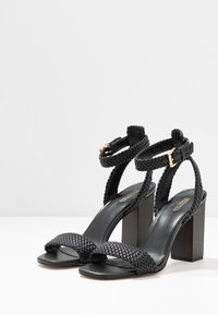 MICHAEL Michael Kors - PETRA ANKLE STRAP - High heeled sandals - black - 4