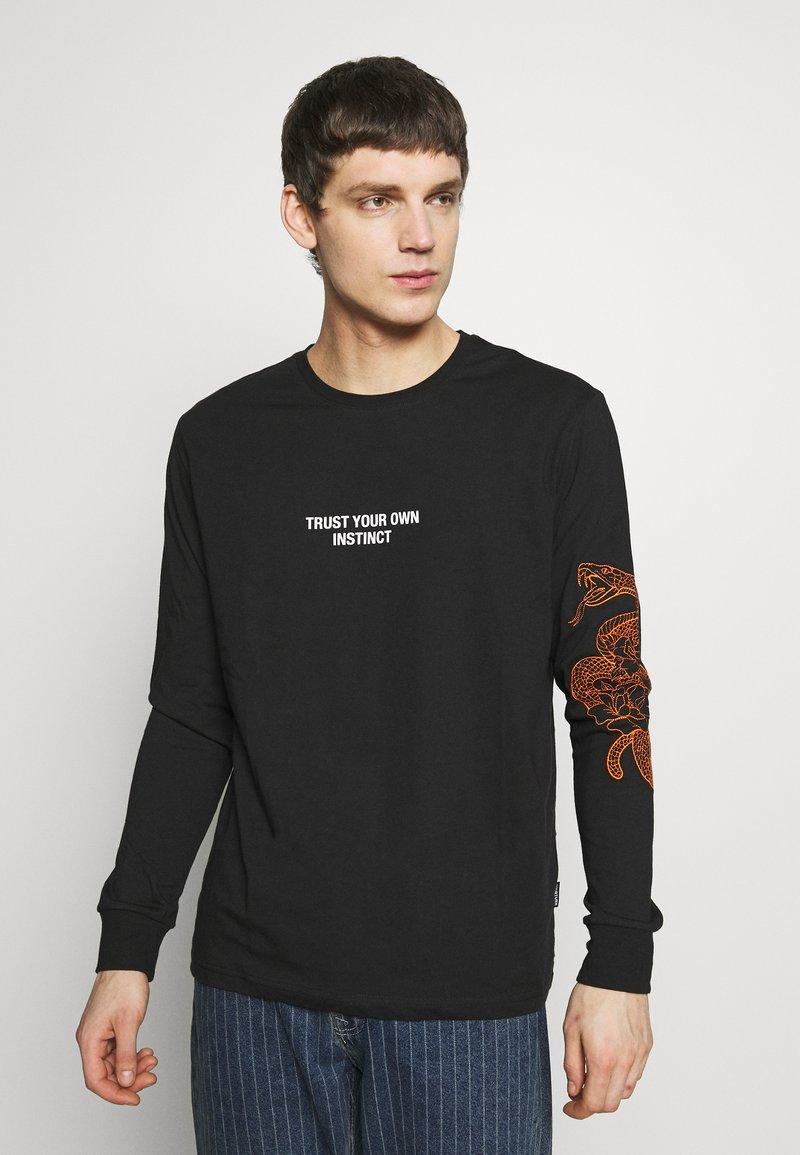 YOURTURN - Långärmad tröja - black