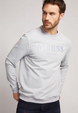 FRONTLOGO TON IN TON - Sweater - hellgrau