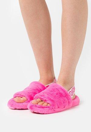 Pantoffels - pink bright