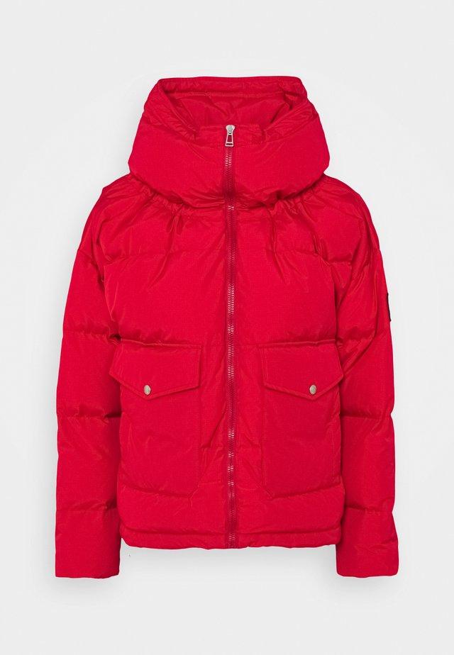 CROMER JACKET - Down jacket - belstaff red