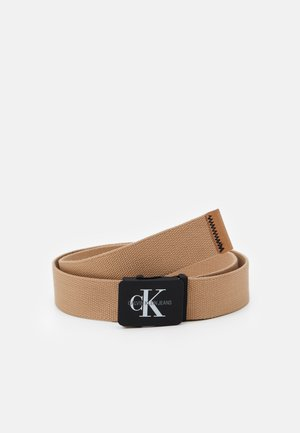 MONOGRAM BELT - Belt - tannin