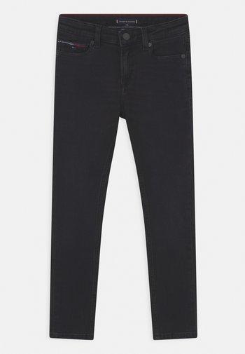 SIMON SKINNY - Jeans Skinny Fit - black denim
