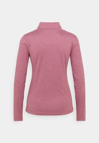 Daily Sports - AGNES MOCK NECK - Long sleeved top - plum - 1