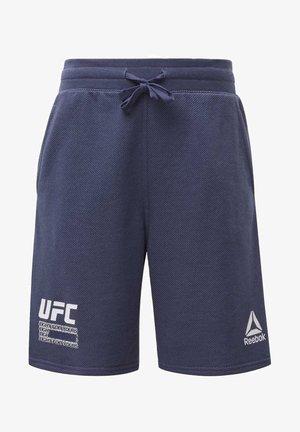 UFC FG FIGHT WEEK SHORTS - Pantalón corto de deporte - blue
