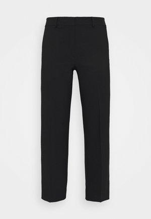 SLFRIGA WIDE PANT - Trousers - black