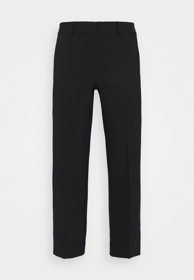 SLFRIGA WIDE PANT - Broek - black