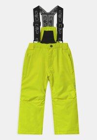 CMP - SALOPETTE UNISEX - Snow pants - yellow fluo - 1