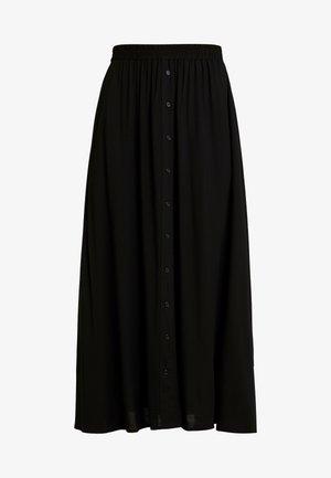 YASSAVANNA LONG SKIRT - Długa spódnica - black