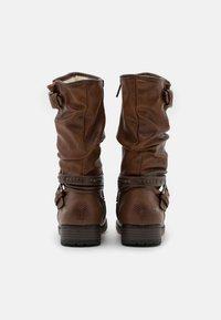 Mustang - Cowboy/Biker boots - cognac - 3