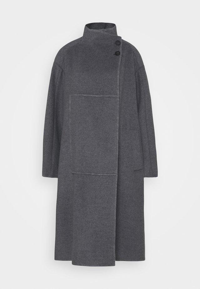 CLASSIC MELTON BLANKET COAT - Manteau classique - grey