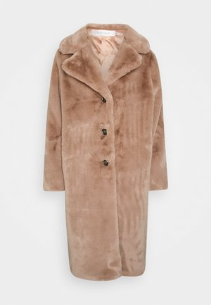 COAT LONG - Winter coat - cinnamon