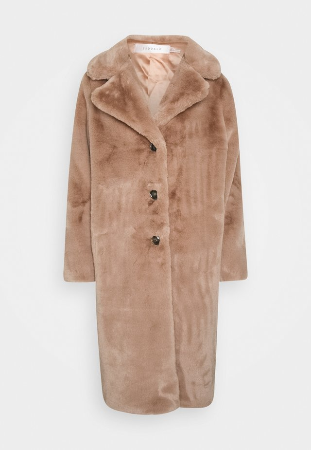 COAT LONG - Vinterkåpe / -frakk - cinnamon