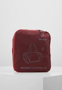 Deuter - AVIANT DUFFEL 35 - Sports bag - maron/aubergine - 5