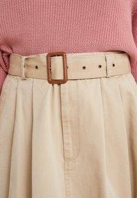 Polo Ralph Lauren - PIECE  - A-line skirt - classic tan - 5