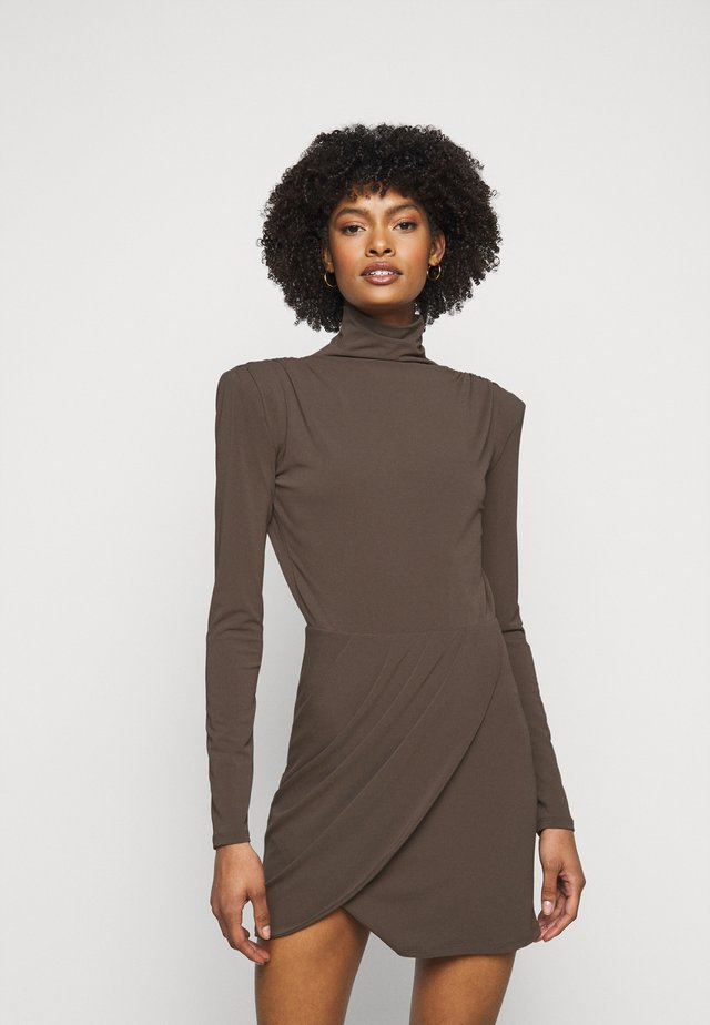 ABITO DRESS - Cocktail dress / Party dress - brown