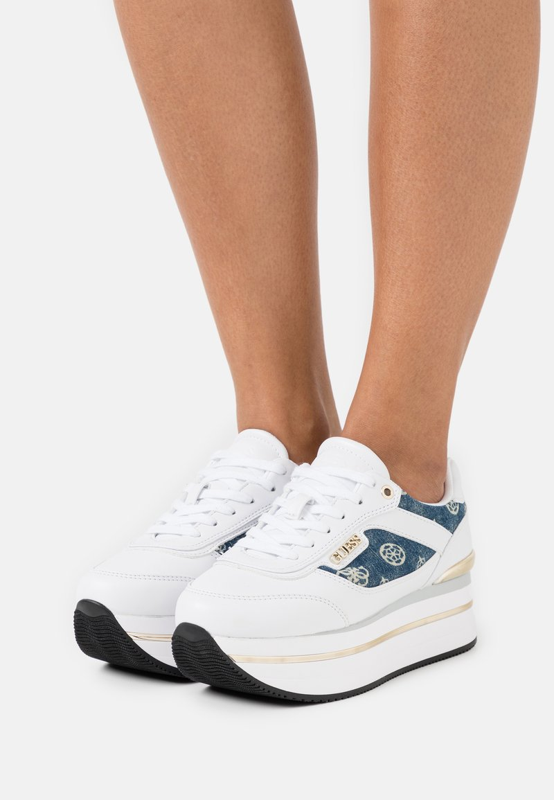 Guess - HANSIN - Trainers - white