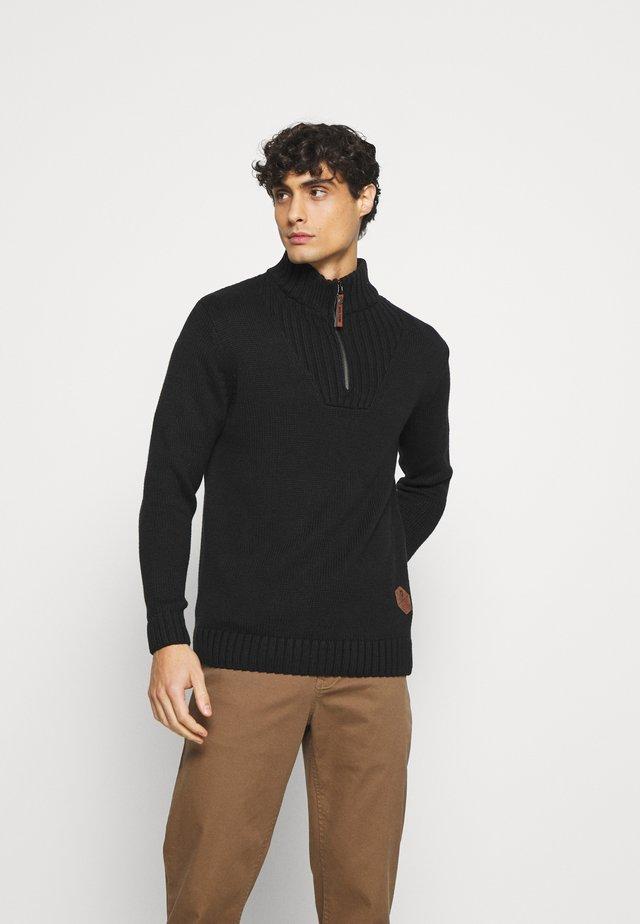 ESPINOZA - Stickad tröja - black