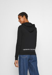 Armani Exchange - Mikina na zip - black - 2