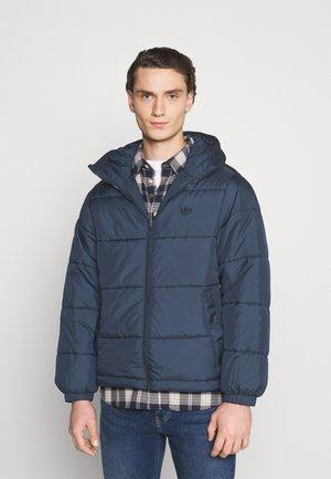 HOODED PUFF - Vinterjakke - dark blue