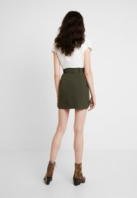 River Island - Mini skirt - khaki - 2