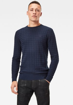 CORE TABLE ROUND LONG SLEEVE - Maglione - sartho blue