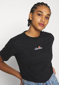 Ellesse - MIYANA - T-shirts basic - black - 3
