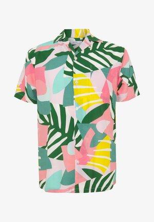MARSTRAND COLLAGE LEAVES - Shirt - pink