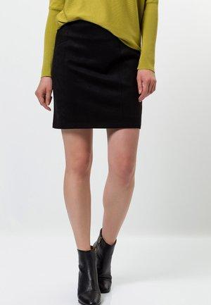 ALCANTARA - Pencil skirt - black