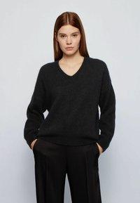 BOSS - FILLALLON - Pullover - black - 2