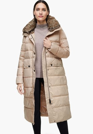 MIT WEBPELZ-BLENDE - Winter coat - beige