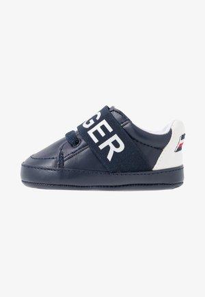 První boty - blue/white