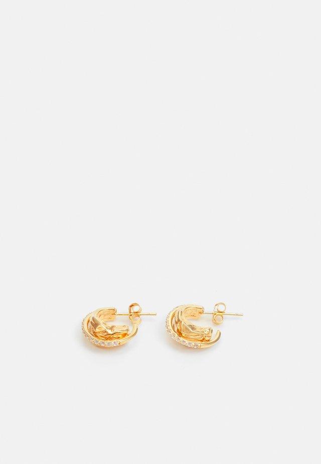 VULCANELLO PICCOLO EARRINGS - Boucles d'oreilles - gelbgold-coloured