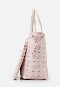 MCM - SHOPPER PROJECT VISETOS MEDIUM SET - Shopping bag - powder pink - 6