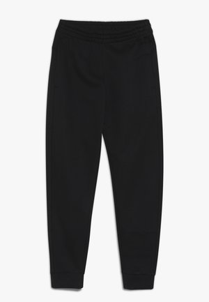 YOUNG GIRLS ESSENTIALS LINEAR SPORT PANTS - Tracksuit bottoms - black/white