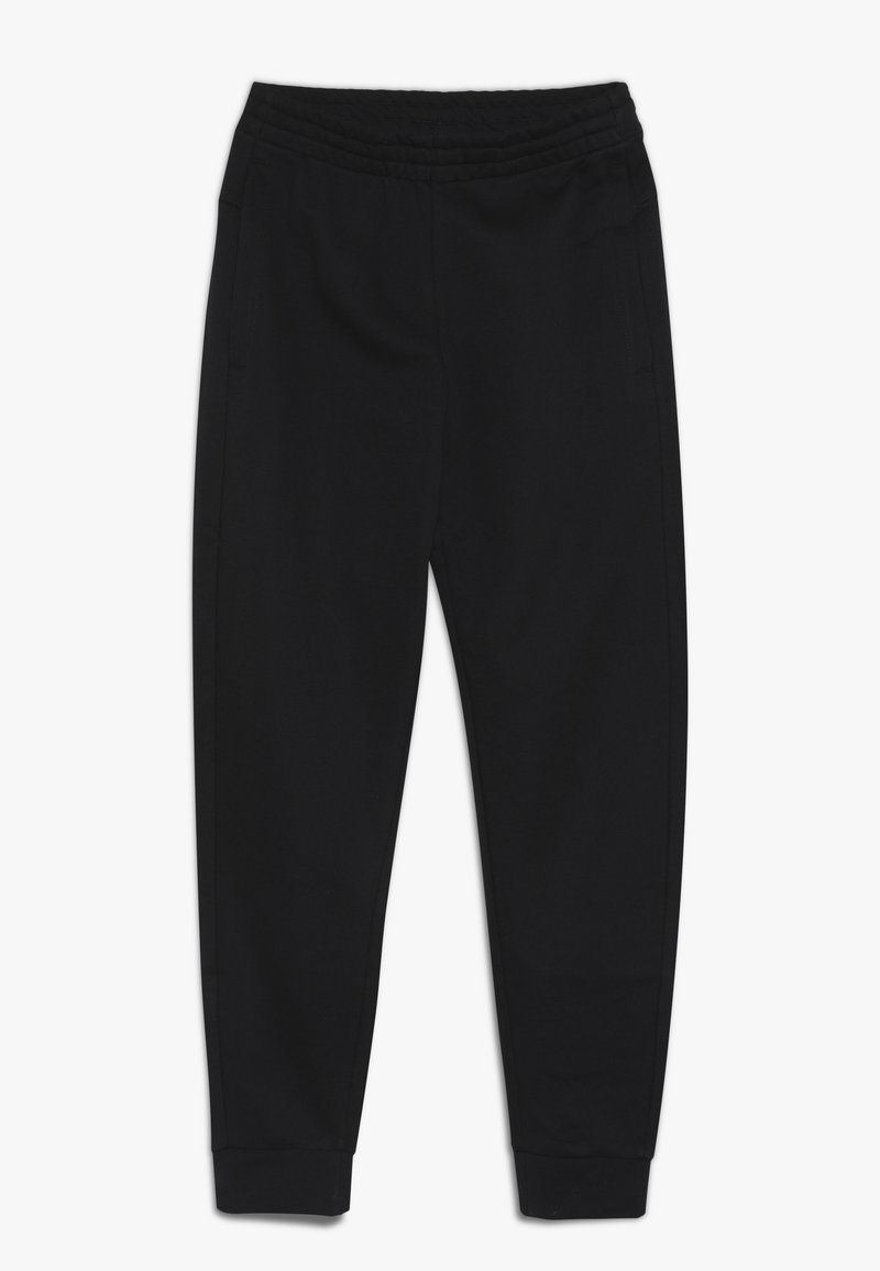 adidas Performance - YOUNG GIRLS ESSENTIALS LINEAR SPORT PANTS - Teplákové kalhoty - black/white