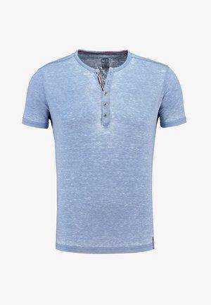MT DIETER - Print T-shirt - blue