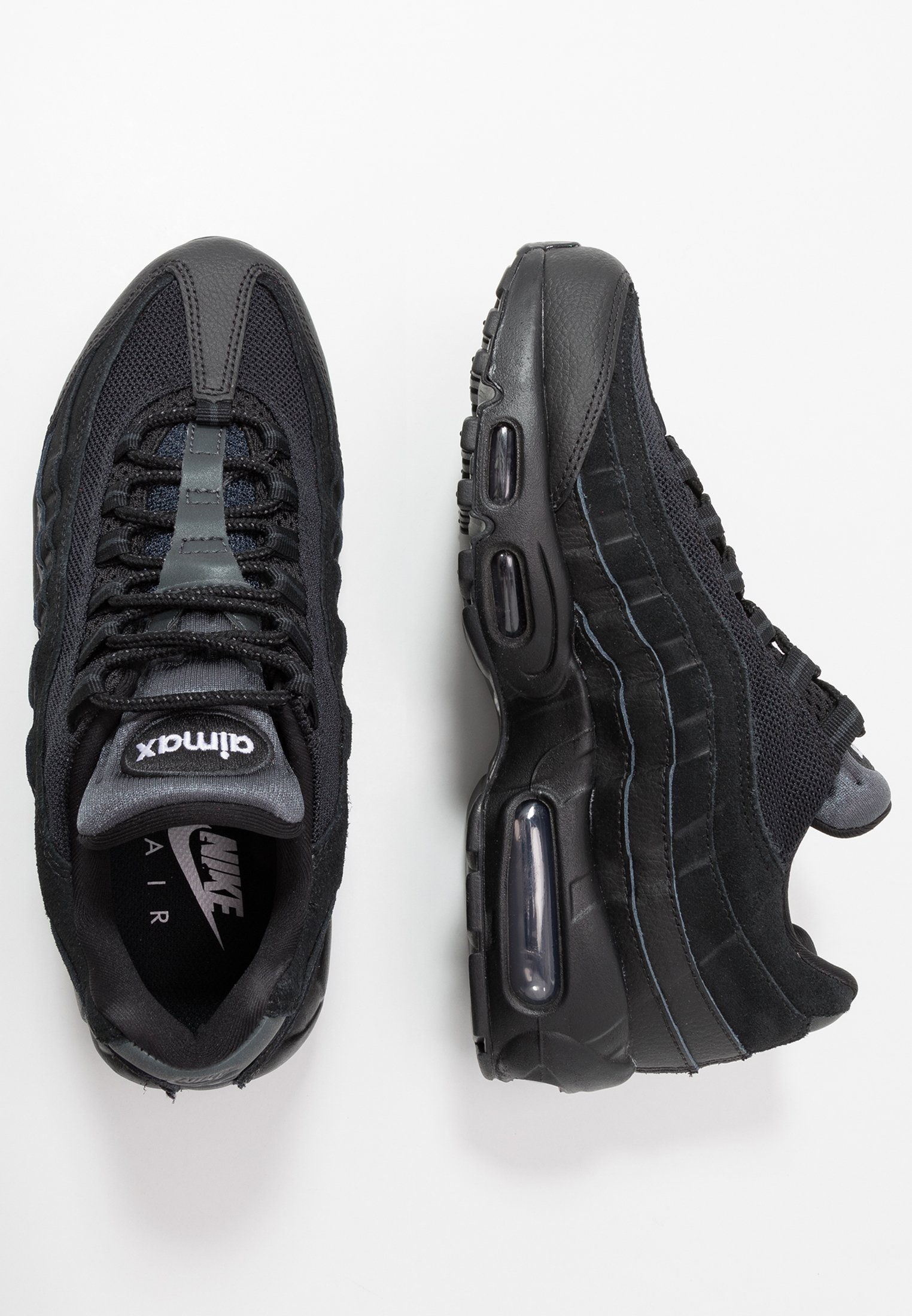AIR MAX 95 ESSENTIAL - Sneakers basse - black/anthracite/white