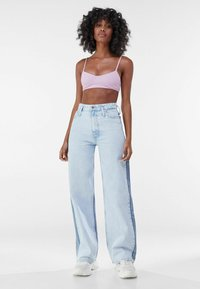 Bershka - Flared jeans - light blue - 1